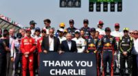 Image: Remembering Charlie Whiting: Drivers and F1 staff join together on the grid