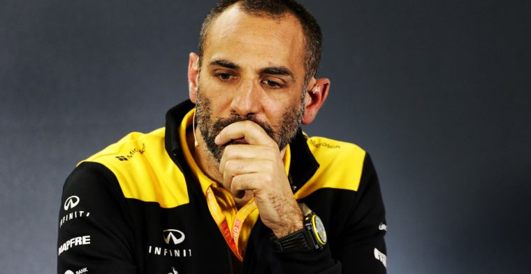 Abiteboul over Ricciardo: Wij halen niet op die manier in bij de start