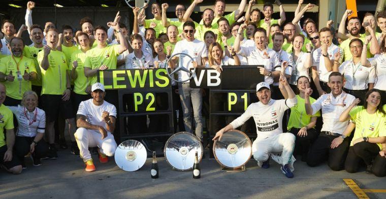 Hakkinen prijst Bottas: 'Interessant om te zien hoe Hamilton gaat reageren'