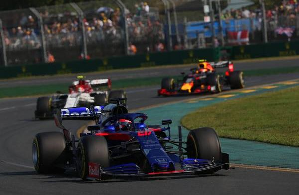 Tost happy with point on Kvyat's return to F1