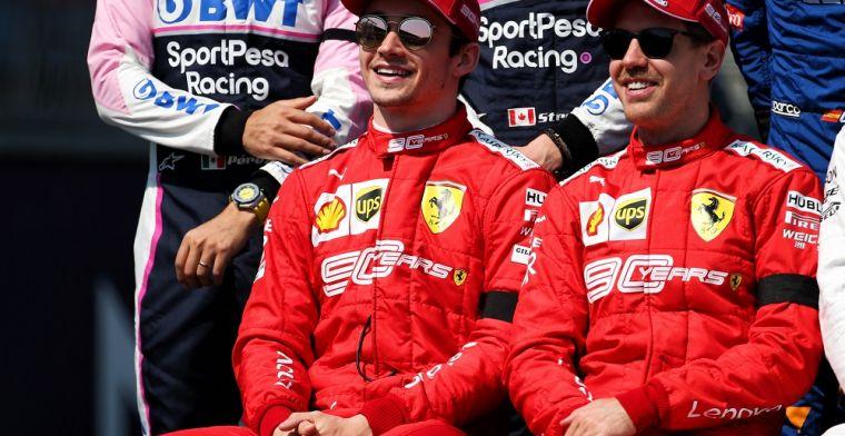 Leclerc: 'Ik ben de nummer twee en mag alleen vrij racen in kwalificatie'