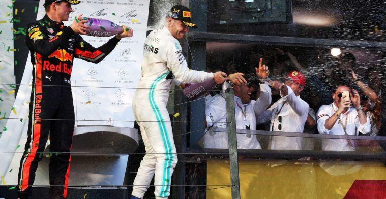 Power Rankings: Valtteri Bottas winnaar, Max in top 3