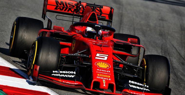Sebastian Vettel heeft nog alle vertrouwen in SF90