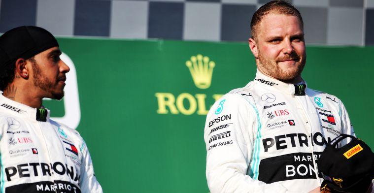 Nico Rosberg: Dat is een zwakte van Lewis en Valtteri profiteerde ervan