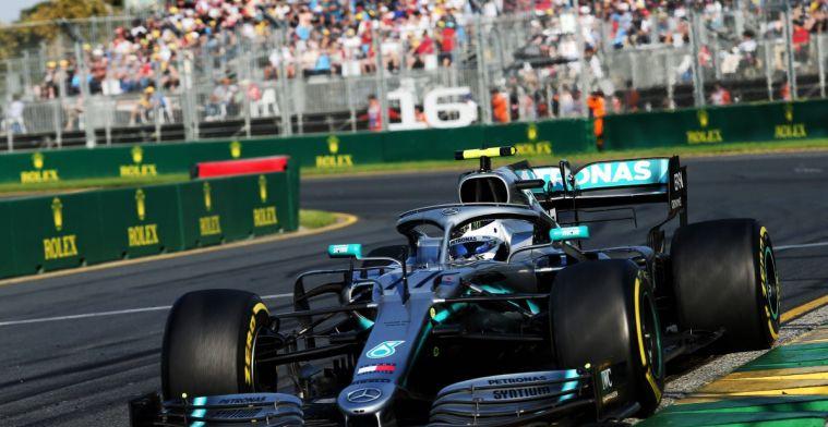 Mercedes legt uit waarom Bottas voor snelste ronde geen verse banden ging halen