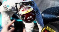 """Afbeelding: Mercedes: """"Beschadiging vloer Hamilton kwam door rijden over kerbstones"""""""