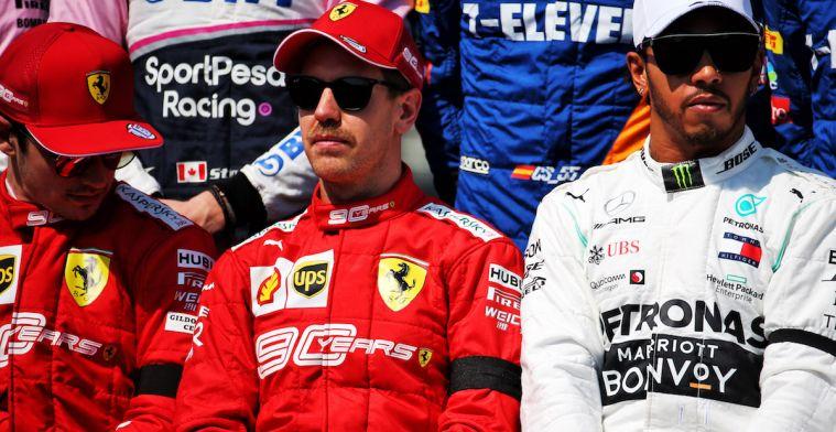 Villeneuve: Vettel kan alleen winnen als hij zijn boze geesten weet te verjagen