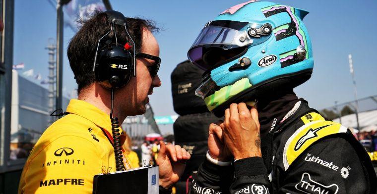 Ricciardo onthult wat het verhaal is achter 'Stop Being Them' op zijn helm