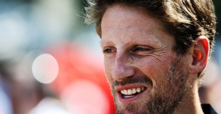 Romain Grosjean praat over geld: Ik breng weinig met mezelf mee