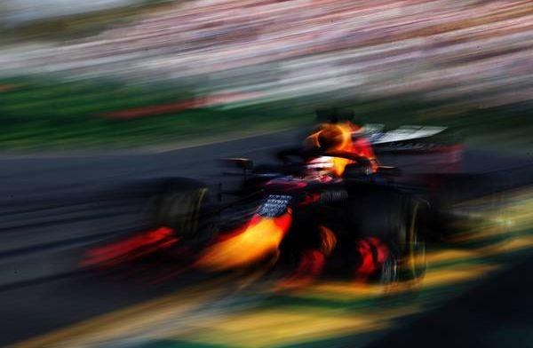Red Bull heeft de Honda-motor in Melbourne nog niet vol gebruikt