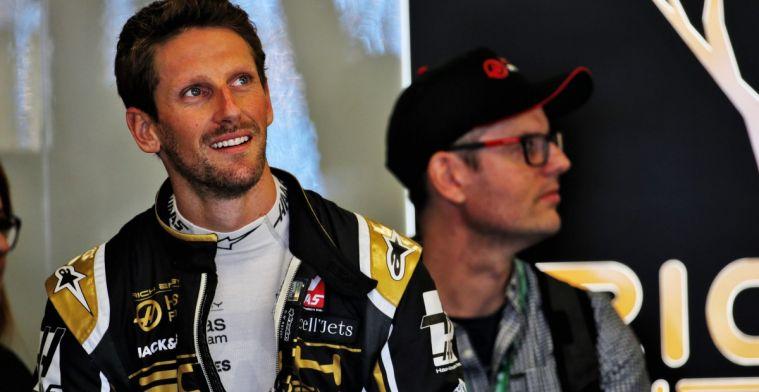 Romain Grosjean verwacht sterke race in Bahrein en heeft zin in gevechten