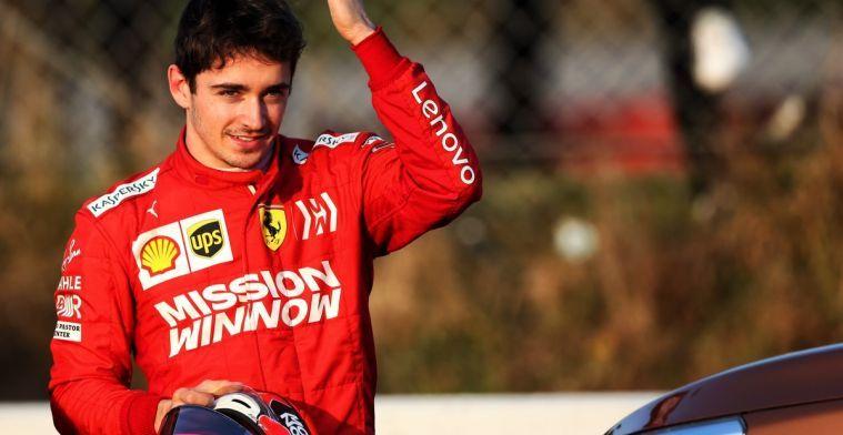 Kijken: Charles Leclerc blikt vooruit op GP van Bahrein