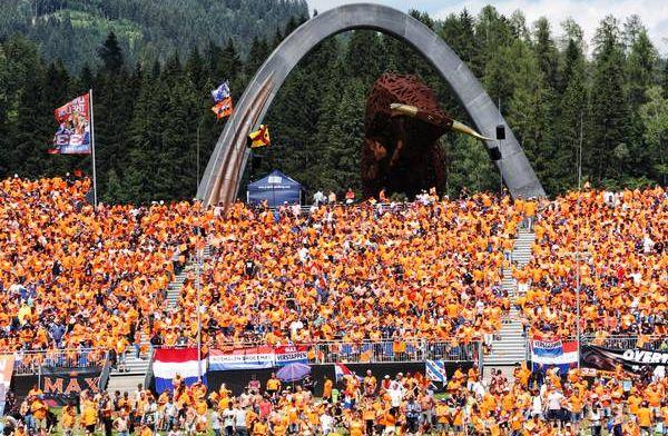 De Ziggo Dome kleurt oranje voor Oostenrijkse Grand Prix