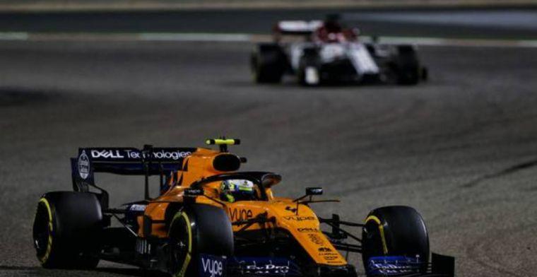Norris believes McLaren are definitely on the way up