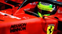 """Image: Mick Schumacher admits he feels """"at home"""" with Ferrari"""