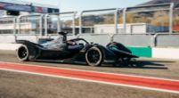 Afbeelding: Vandoorne test de nieuwe wagen van Mercedes voor 2020