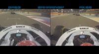 Afbeelding: Kijken: Russell en Kubica wisselen stuivertje in openingsronde Bahrein