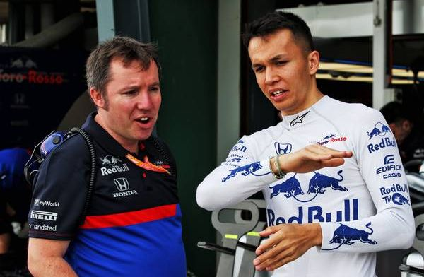 Albon: G-forces in turn one of Shanghai Circuit will be incredible