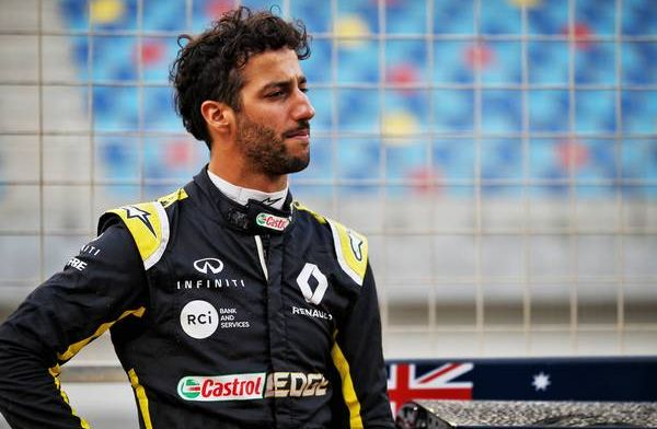 Ricciardo 'getting there' with Renault after Bahrain test