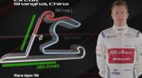 Afbeelding: Kimi Raikkönen neemt je mee met een rondje op het circuit van Shanghai