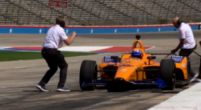 Afbeelding: Alonso rijdt eerste meters in nieuwe IndyCar en legt uit wat er anders is