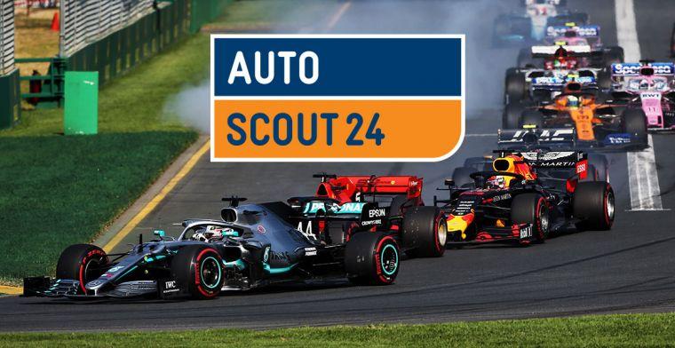 Vijf occasions met een link naar de Formule 1
