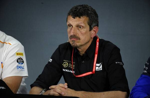 Guenther Steiner jokes that Ferrari are cheating with their fuel