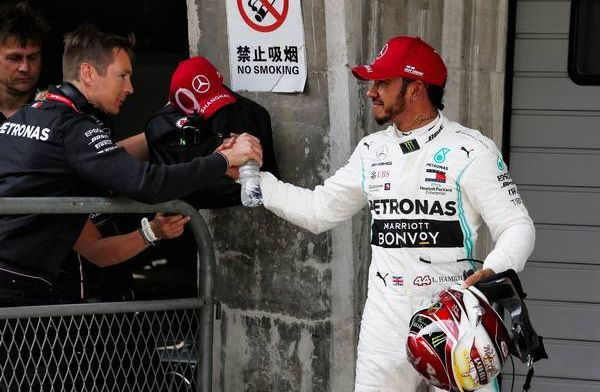 Hamilton: I was experimenting throughout the session
