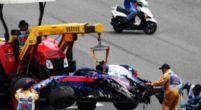 Afbeelding: Geen kwalificatie voor Albon na crash: Toro Rosso wisselt chassis