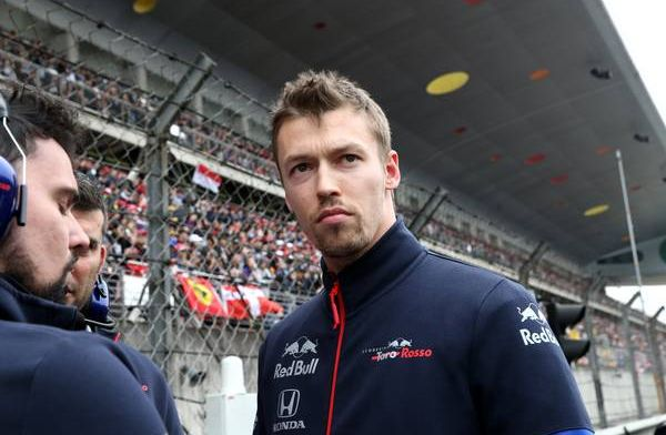 Kvyat totally disagrees with penalty for lap one incident