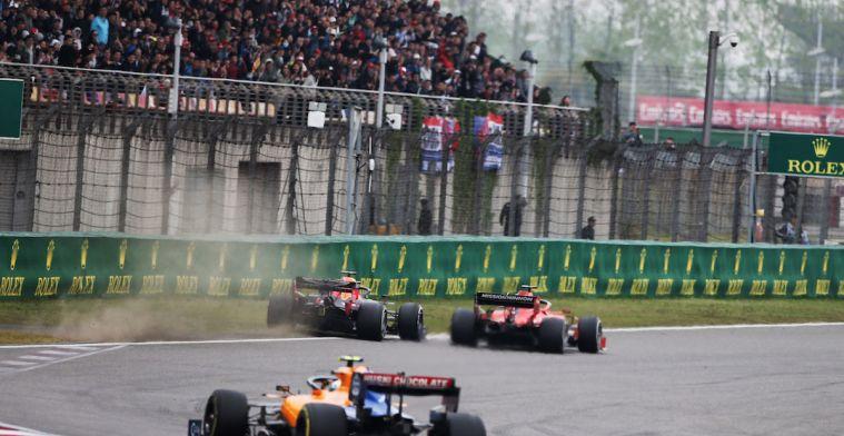 Verstappen over verdedigende actie van Vettel tijdens de GP van China