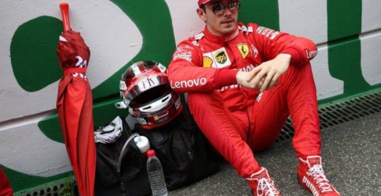 Leclerc accepts Ferrari explanation