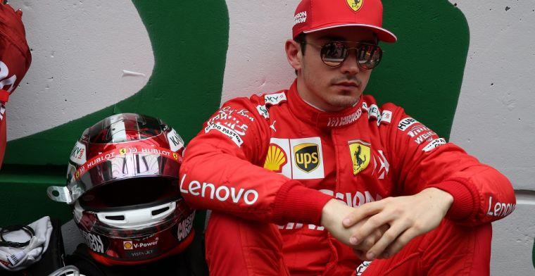 'Ferrari moet de aanvoerdersband van Vettel afnemen en aan Leclerc geven'