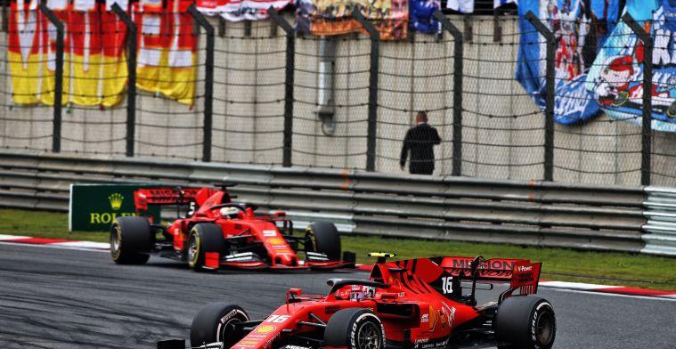 De internationale pers is 'not amused' over het teambevel van Ferrari in China!