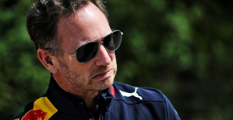 Christian Horner: We weten allemaal dat Helmut Marko een optimist is