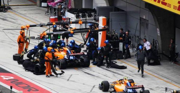 Norris reveals Kvyat crash experience