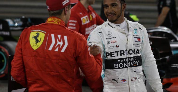 Jackie Stewart: Je kunt niet zeggen dat Hamilton beter is dan Sebastian Vettel