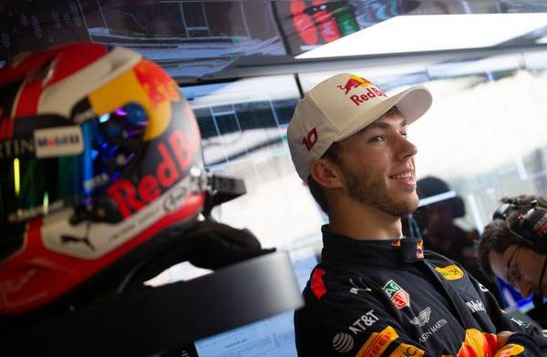 Red Bull says Gasly has taken a step forward