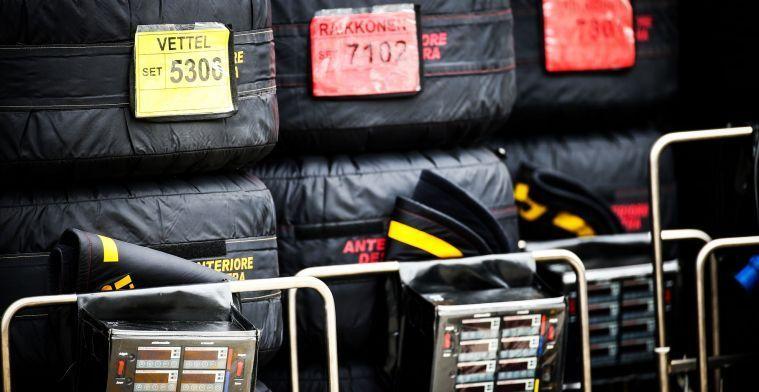 Pirelli kiest voor de op één na zachtste band in Frankrijk
