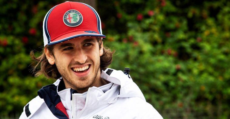 Alfa Romeo blijft Giovinazzi pushen: Dat hielp in het verleden ook prima