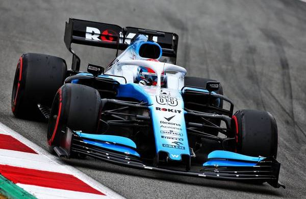 Russell and Kubica have big problems with Williams car behaviour