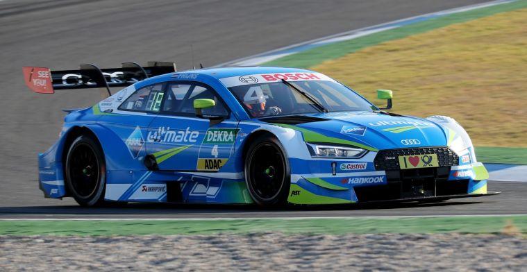 Bij DTM-test op Lausitzring is Frijns de snelste