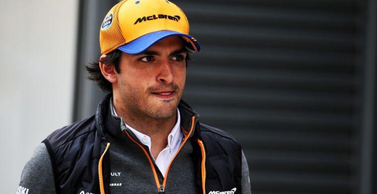 Sainz niet tevreden over de eerste drie races voor McLaren