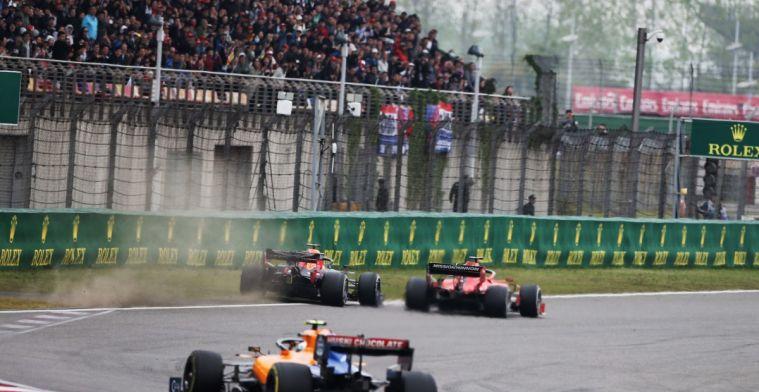 Jolyon Palmer verbaasd dat Verstappen niet klaagde over verdedigende actie Vettel