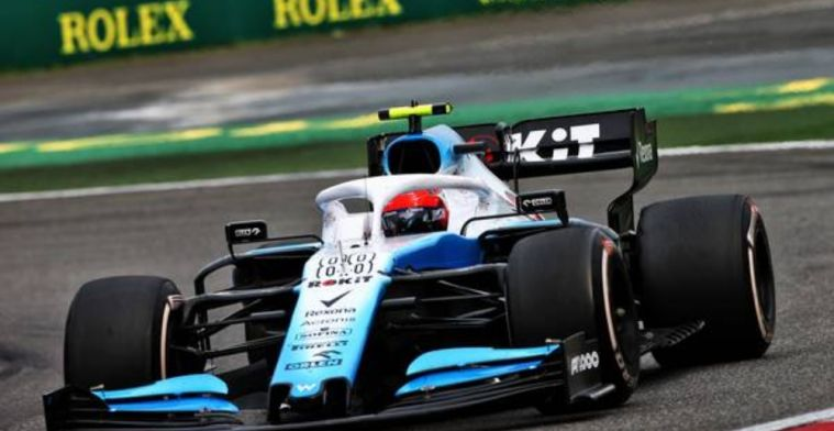 Williams hoping to close the gap with new components
