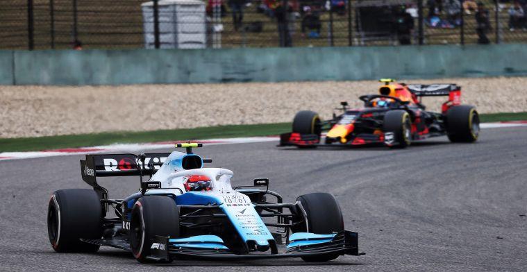Williams verwacht in komende races in te lopen: Zijn we in China mee begonnen