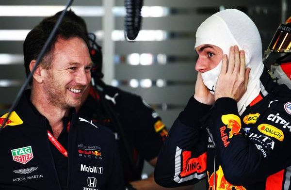 Horner praises the remarkable job Verstappen has done at Red Bull