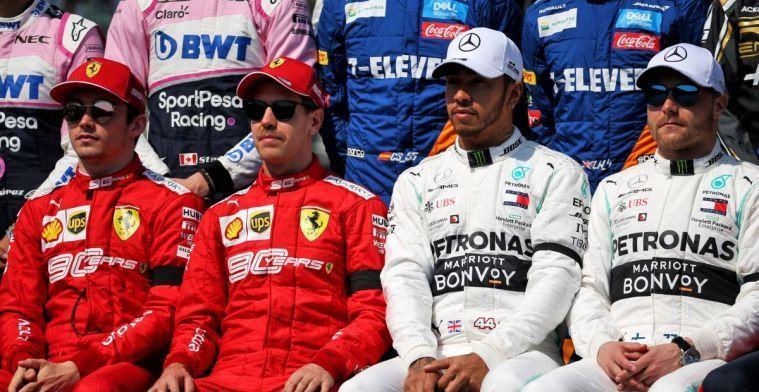Hamilton: Focus van Ferrari op rechte stukken gaat ze parten spelen na Baku