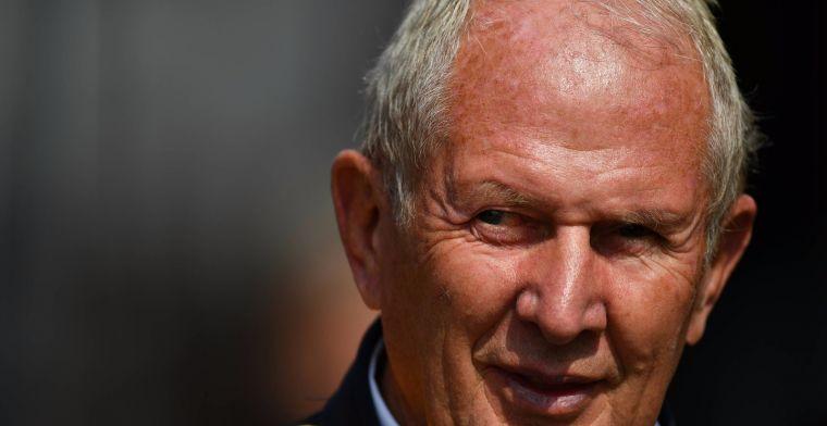 Helmut Marko geen fan van vrouwen in F1: Dat heb je in het tennis toch ook niet?