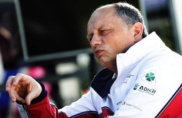 """Vasseur: """"Niet presteren Giovinazzi schuld van het Team"""